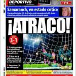 Mundo Deportivo: Furto!