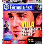 """Mundo Deportivo: Villa """"Sono totalmente compatibile con Ibrahimovic"""""""