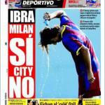 Mundo Deportivo: Ibra, Milan si, City no