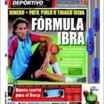 Mundo Deportivo, Formula Ibra: soldi + Pato, Pirlo o Thiago Silva