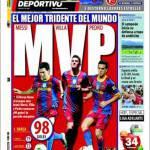 Mundo Deportivo: Il miglior tridente del mondo