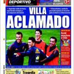 Mundo Deportivo: Villa acclamato