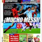 Mundo Deportivo: Molto Messi!