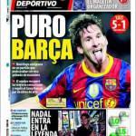 Mundo Deportivo: Puro Barcellona