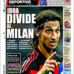 Mundo Deportivo: Ibra divide il Milan