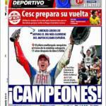 Mundo Deportivo: Cesc prepara il suo ritorno