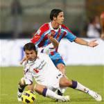 Serie A, Catania-Fiorentina 0-0. Buon rientro di Mutu tra i viola