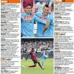 Napoli-Livorno, voti e pagelle della Gazzetta dello Sport: super Pandev, Duncan si salva – Foto