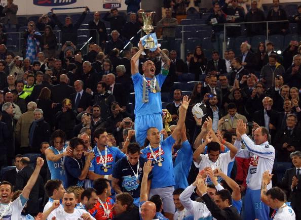 berita bola - Gebuk Fiorentina, Napoli Juara Coppa Italia 2013/2014