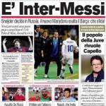 Corriere dello Sport: E' Inter-Messi