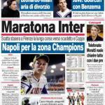Corriere dello Sport: Maratona Inter