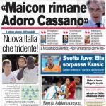 """Corriere dello Sport: Moratti: """"Maicon rimane, adoro Cassano"""""""