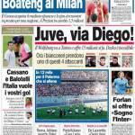 Il Corriere dello Sport: Juve, via Diego