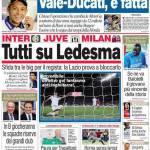 Corriere dello Sport: Tutti su Ledesma