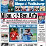 Corriere dello Sport: Milan, c'è Ben Arfa