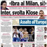 Corriere dello Sport: Inter, svolta Klose