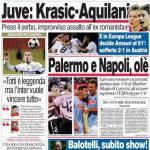 Corriere dello Sport: Juve, Krasic-Aquilani