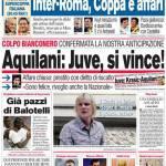 Corriere dello Sport: Aquilani, Juve si vince