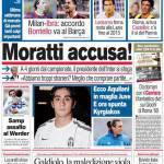 Corriere dello Sport: Moratti accusa!