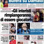 """Corriere dello Sport: """"Gli interisti rimpiangeranno di essere giocatori"""""""