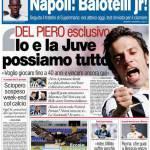 """Corsport: Del Piero esclusivo """"Io e la Juve possiamo tutto"""""""