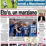 Corriere dello Sport: Eto'o, un marziano
