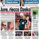 Corriere dello Sport: Juve, riecco Dzeko!