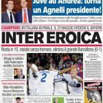 Corriere dello Sport: Inter eroica