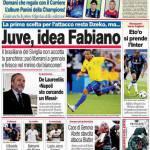 Corriere dello Sport: Juve, idea Fabiano!