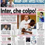 Corriere dello Sport: Inter, che colpo!