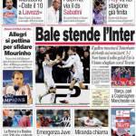 Corriere dello Sport: Bale stende l'Inter