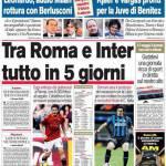 Corriere dello Sport: Tra Roma e Inter tutto in 5 giorni