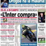 """Corriere dello Sport: """"L'Inter compra"""""""