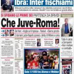 Corriere dello Sport: Che Juve-Roma