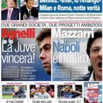"""Corriere dello Sport: Agnelli """"La Juve vincerà"""""""