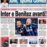 Corriere dello Sport: Inter e Benitez avanti!