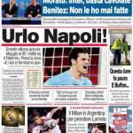 Corriere dello Sport: Urlo Napoli!