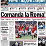 Corriere dello Sport: Comanda la Roma!