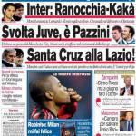 Corriere dello Sport: Inter, Ranocchia-Kakà