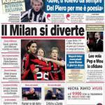 Corriere dello Sport: Il Milan si diverte