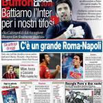 """Corriere dello Sport: Buffon """"Battiamo l'Inter per i nostri tifosi"""""""
