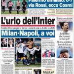 Corriere dello Sport: L'urlo dell'Inter