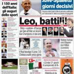 Corriere dello Sport: Leo battili!