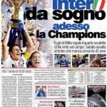 Corriere dello Sport: Inter da sogno, adesso la Champions