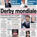 Corriere dello Sport: Derby mondiale