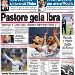 Corriere dello Sport: Pastore gela Ibra