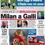 Corriere dello Sport: Milan a Galli