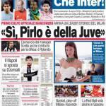 """Corriere dello Sport: """"Si, Pirlo è della Juve"""""""