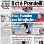 Corriere dello Sport: Il c.t. è Prandelli!