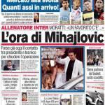 Corriere dello Sport: L'ora di Mihajlovic